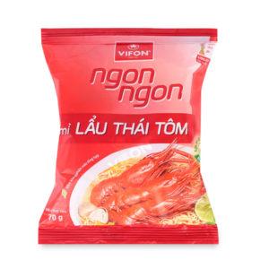 Instantnudeln Lau Thai Geschmack